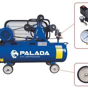 Máy bơm hơi Palada thiết kế nhỏ gọn, tiện lợi
