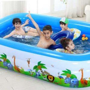 Bể bơi di động ngày càng được sử dụng nhiều trong cuộc sống
