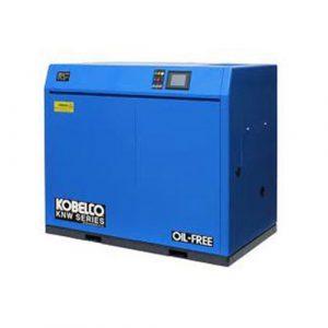 Kobelco chuyên sản xuất máy bơm hơi loại to đáp ứng yêu cầu công việc của các xí nghiệp