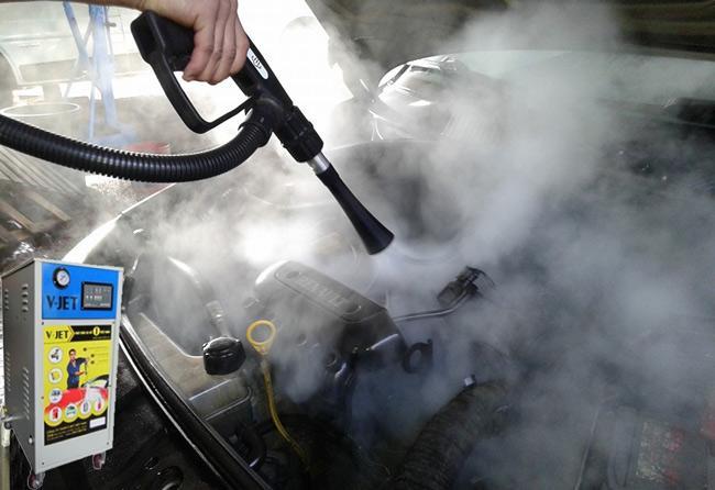 Máy rửa xe hơi nước nóng vjet
