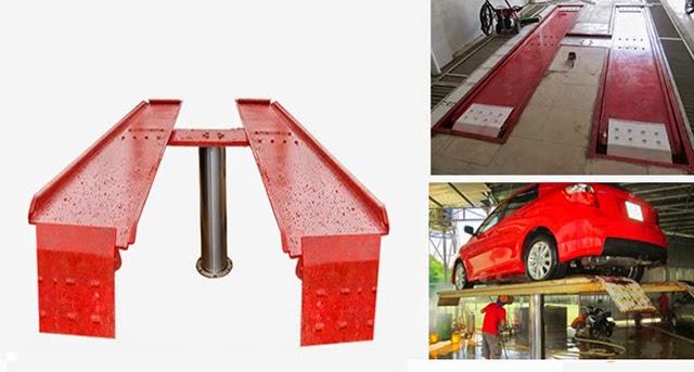 Sản phẩm cầu nâng 1 trụ ấn độ bàn nổi