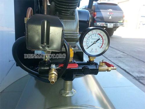 cách chỉnh áp suất máy nén khí