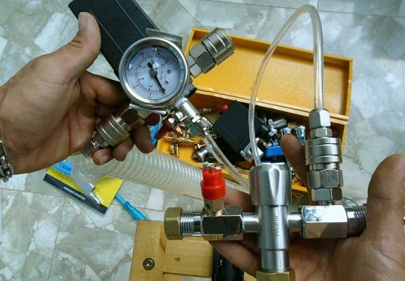 điều chỉnh áp suất qua van chỉnh áp