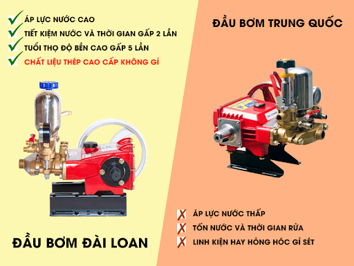 Chất lượng máy rửa xe đài loan