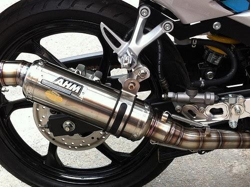 ống pô xe máy