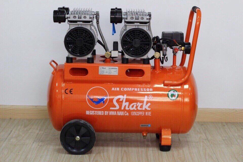 Máy bơm hơi shark được thiết kế nhỏ gọn