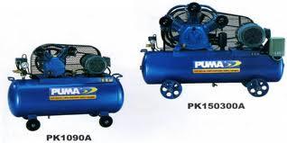 Một vài máy bơm hơi 1Hp của Puma