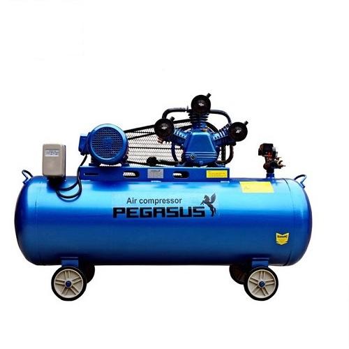Máy bơm nén khí không dầu áp lực cao Pegasus 4HP 180L, 12.5 BAR, 220V