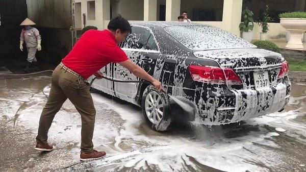 chi phi mở tiệm rửa xe
