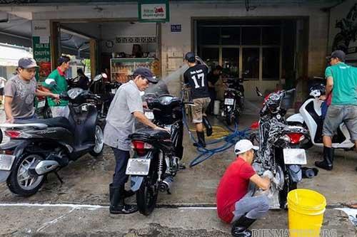 kinh doanh sửa xe máy
