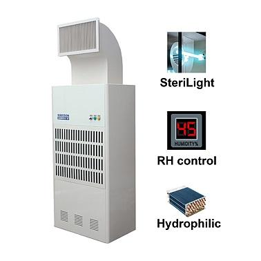 Trang bị đèn UV-C giúp diệt vi khuẩn,nấm mốc hiệu quả