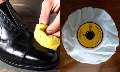 Miếng vải đánh bóng giày