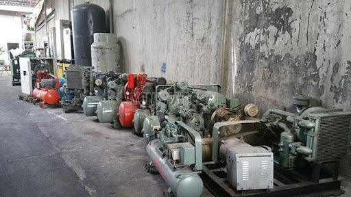 thanh lý máy nén khí cũ