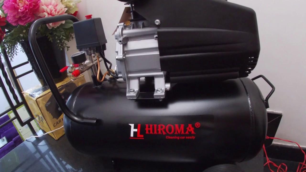máy nén khí hiroma
