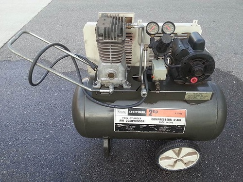 ưu điểm khi mua máy nén khí cũ