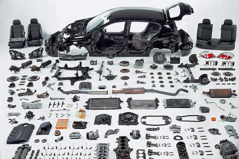 các bộ phận cấu tạo nên ô tô
