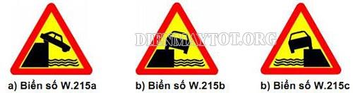 nhóm biển báo nguy hiểm