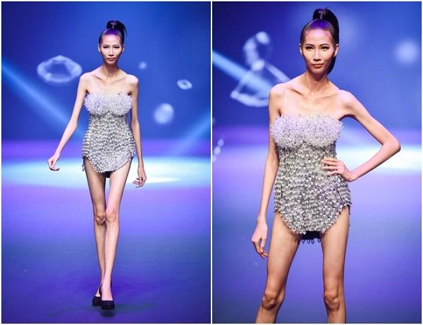 Người mẫu Cao Ngân đã bi body shaming từ mạng xã hội rất nhiều