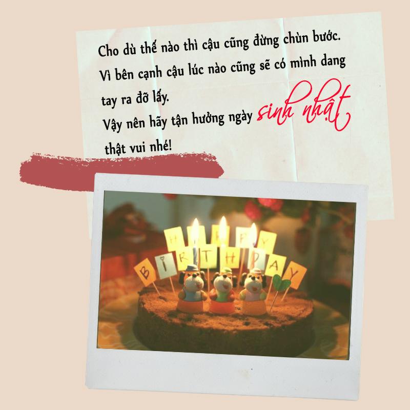 Lời chúc sinh nhật hài hước cho bạn thân