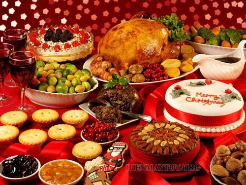 Lễ giáng sinh ăn gì