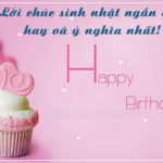 Lời chúc mừng sinh nhật người yêu ngọt ngào nhất