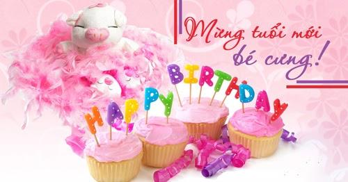 lời chúc sinh nhật hay nhật cho con gái