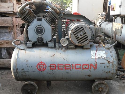 máy bơm hơi khí nén cũ còn mới