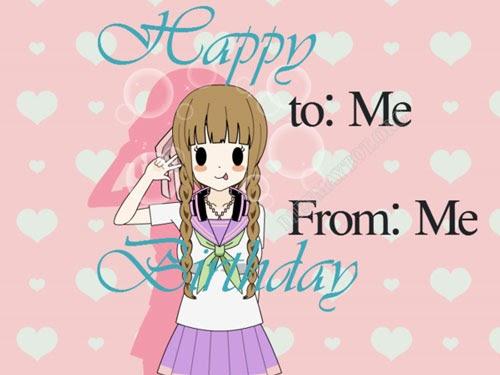 Stt tự chúc mừng sinh nhật bản thân hay nhất, stt chúc mừng sinh nhật bản thân tuổi 17