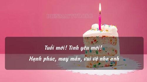 lời chúc sinh nhật cho anh trai