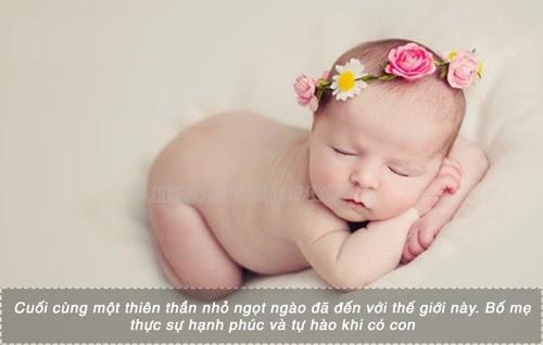 Lời chúc em bé mới sinh