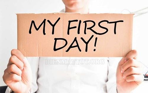 Lời chúc ngày đầu tiên đi làm