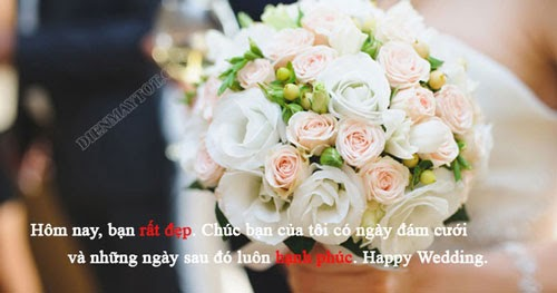 stt chúc mừng bạn thân lấy chồng