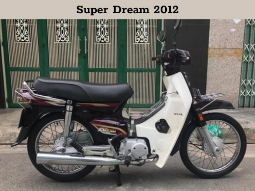 xe super dream đời đầu