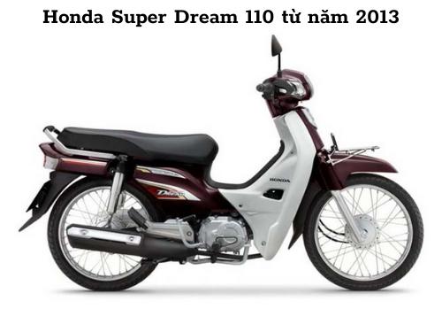 Xe dream 2013 khỏe khắn thiết kế chỉn chu hơn