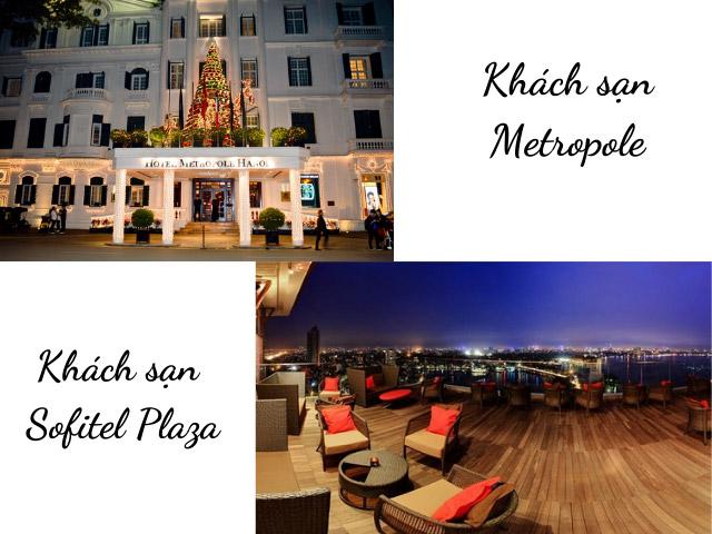 Chơi Noel tại khách sạn lớn ở Hà Nội