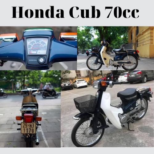 Xe Cub 50 Thái Lan cũ