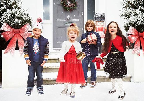Trẻ em mong chờ đến lễ giáng sinh