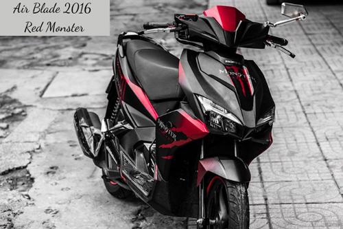 Honda Air Blade 2016 có thiết kế gọn nhẹ hơn trước