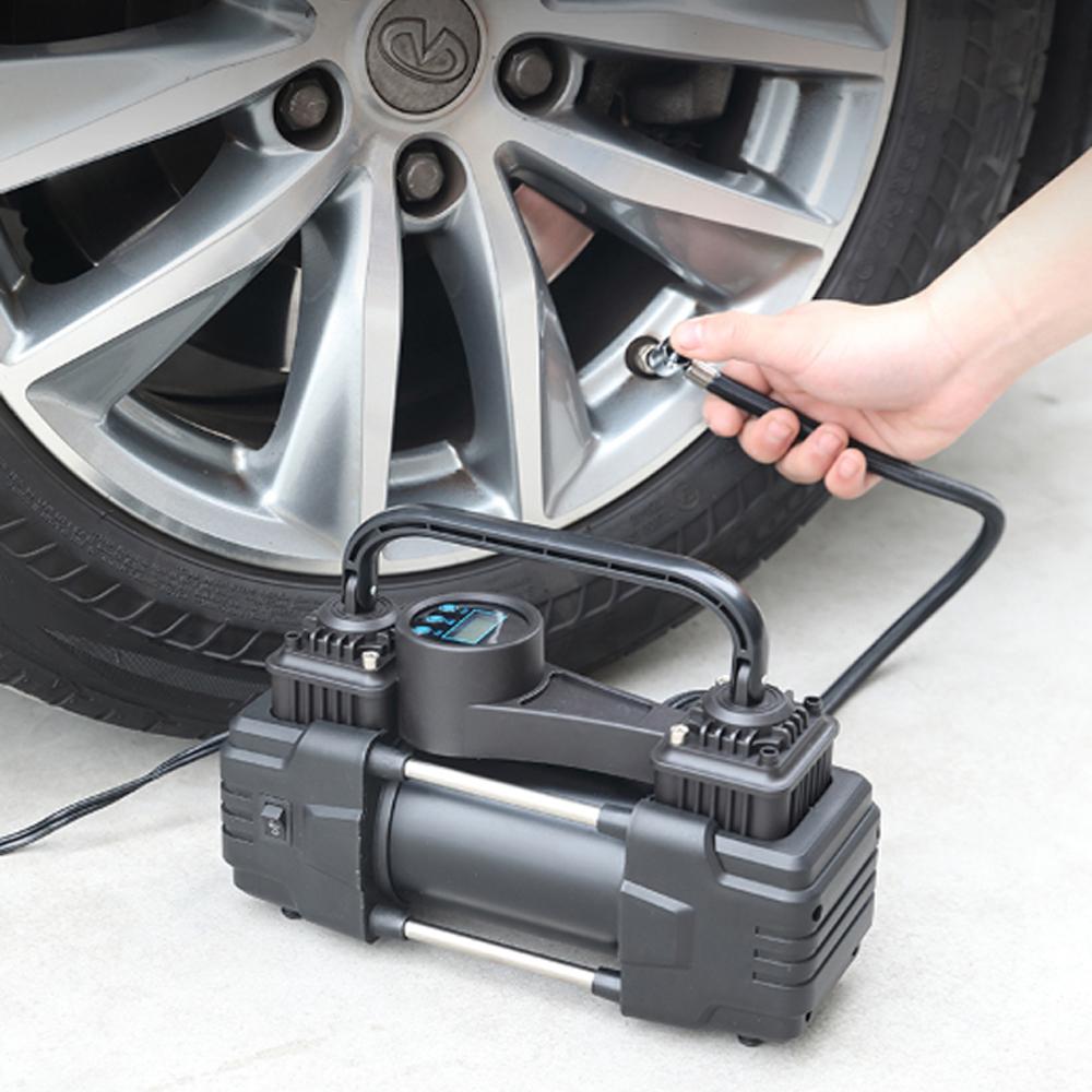 Bơm hơi lốp ô tô bằng điện 12V