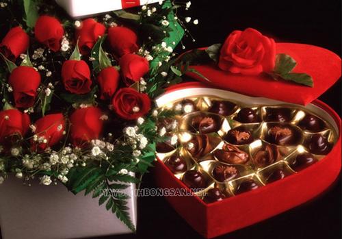hoa ngày lễ tình yêu