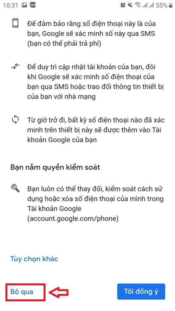 cách tạo gmail không cần sdt