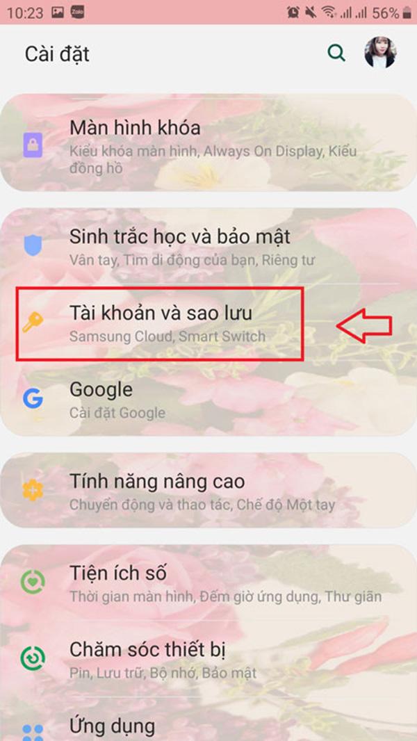 Tạo tài khoản gmail trên android