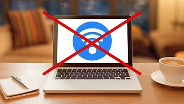 máy tính không vào được wifi