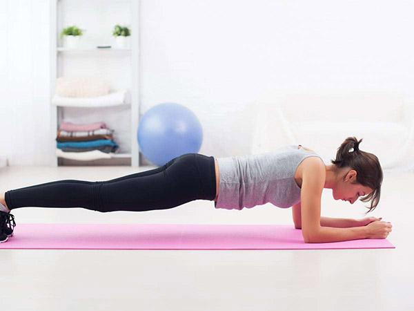 Plank - bài tập giảm mỡ bụng cơ bản