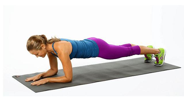 Động tác Plank cho nữ mới tập