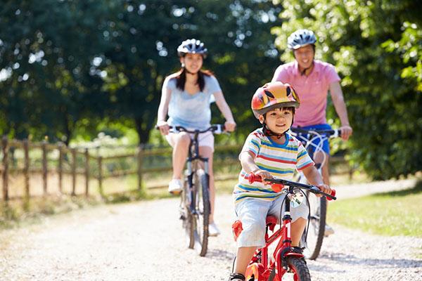 Đạp xe giảm thiểu căng thẳng, nâng cao sức khỏe