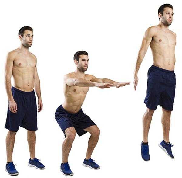 Động tác Jump squat