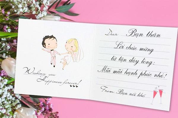 Lời chúc đám cưới hài hước