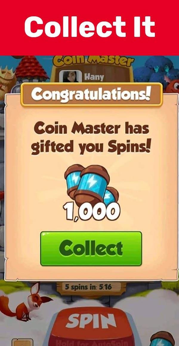 cách nhận spin coin master