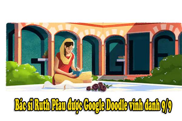 Bác sĩ Ruth Pfau được Google Doodle vinh danh 9/9
